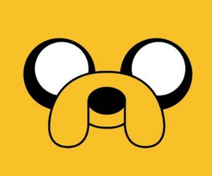JAKe, adventure time, and yellow image