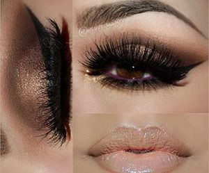 beauty, lashes, and nails image