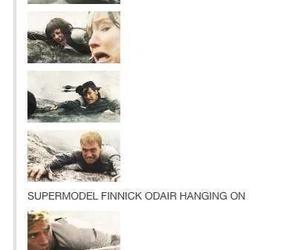 funny, katniss, and peeta image