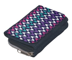 zigzags, ladies purse, and trendy purse image