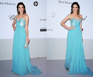 alessandra ambrosio, dress, and blue image