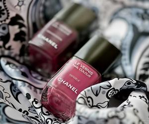 chanel and nail polish image