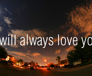 always, I Love You, and typography image