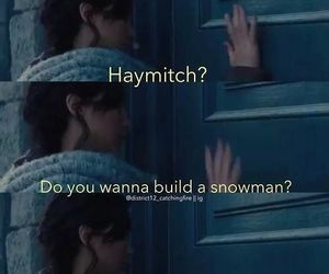 frozen, funny, and katniss image