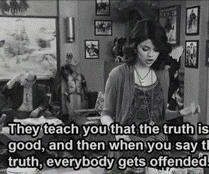 selena gomez, truth, and quotes image