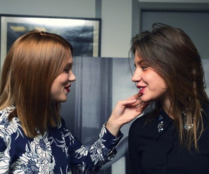 Lea Seydoux, adele exarchopoulos, and beautiful image