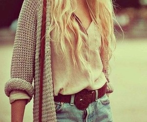 blonde, blouse, and fashion image