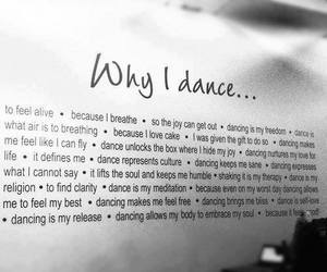 dance, love, and why i dance image