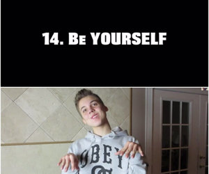 be yourself, cute, and matt espinosa image