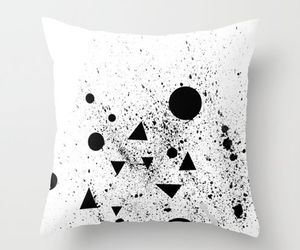 black and white, design, and furnishings image