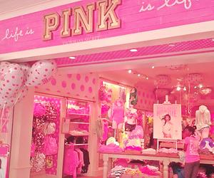 pink, Victoria's Secret, and shop image