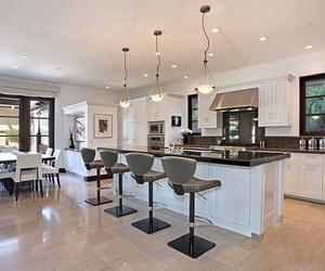 diningroom, luxury, and grey image