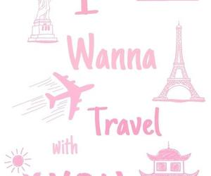 travel, pink, and paris image
