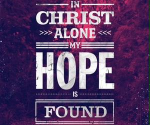 hope, Christ, and god image