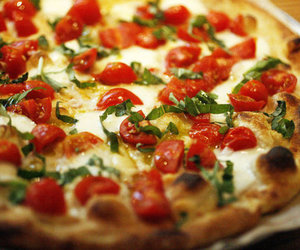 food, Hot, and pizza image