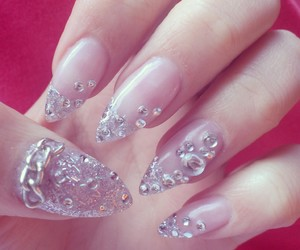 bling bling, crystal, and glitter image