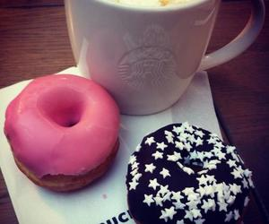donuts, food, and coffee image