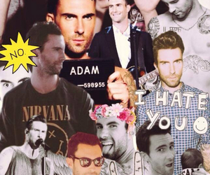adam, Collage, and maroon 5 image