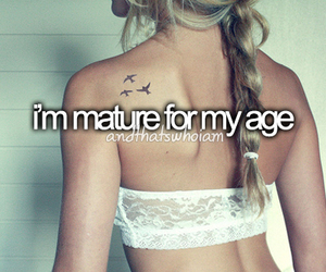 girl, quote, and mature image