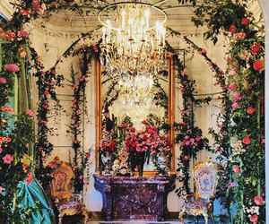 fairy tale, flowers, and roses image