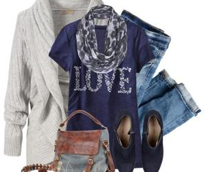 cardigans, school outfits, and casual outfits image