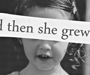 girl, quote, and she image