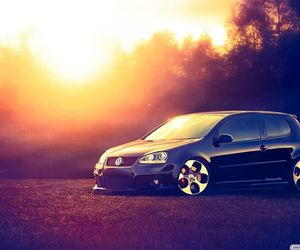 car, volkswagen, and love image