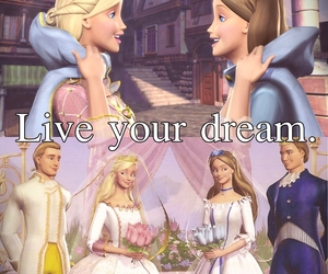 barbie, Dream, and live image