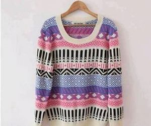 sweater, clothes, and pink image