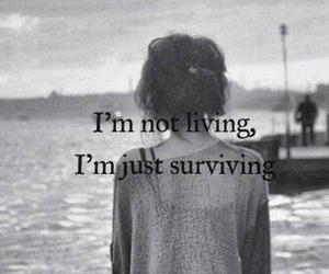 surviving, quotes, and life image