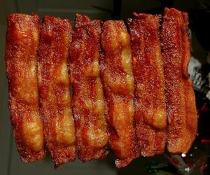 food, bacon, and yummy image