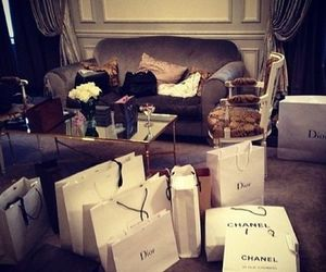 chanel, shopping, and dior image