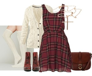 clothes, Polyvore, and rock image