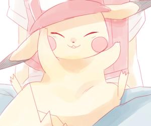 anime, pikachu, and sweet image