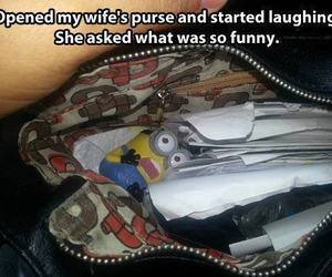 funny, minions, and laughing image
