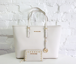bag, designer, and gold image