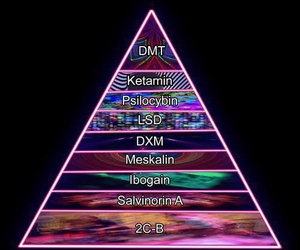 drugs, lsd, and dmt image