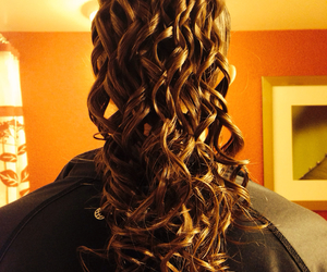 cheer, curls, and curly image
