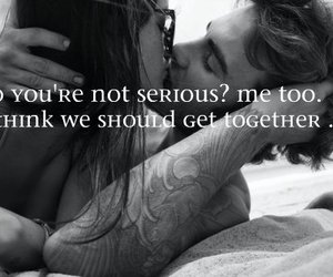 couple, grey, and phrases image