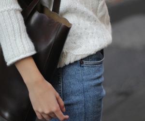 fashion, bag, and girl image