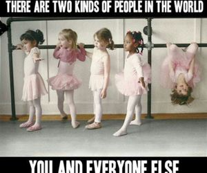 funny, ballet, and you image