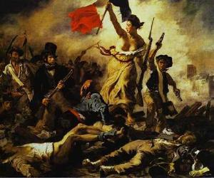 art, france, and delacroix image