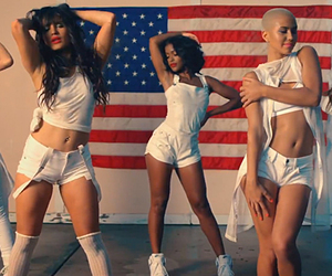 GRL, vacation, and simone battle image