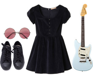 fashion, grunge, and Polyvore image