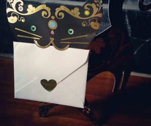 card, heart, and love image