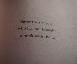 book, quote, and trust image
