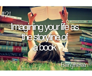 book, Dream, and life image
