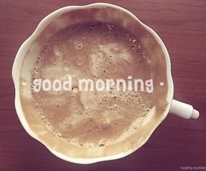 coffee and good morning image