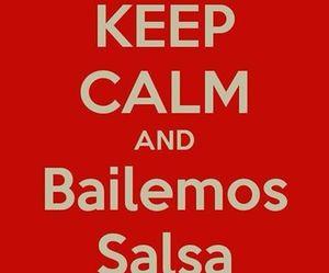dance, salsa, and bailar image