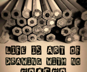 life, art, and quote image